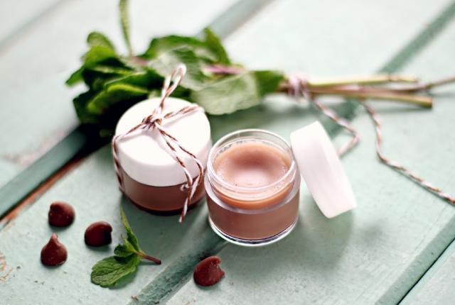 Minty Chocolate Lip Balm