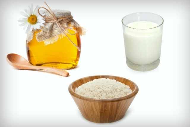 Rice Powder Milk and Honey