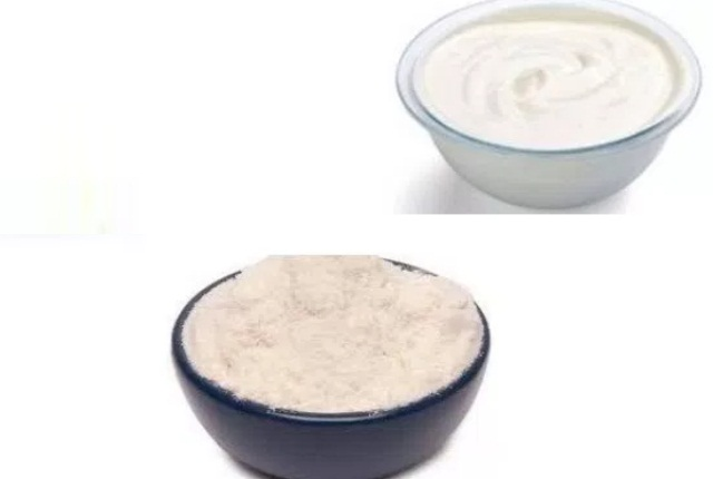 Rice Powder & Yogurt