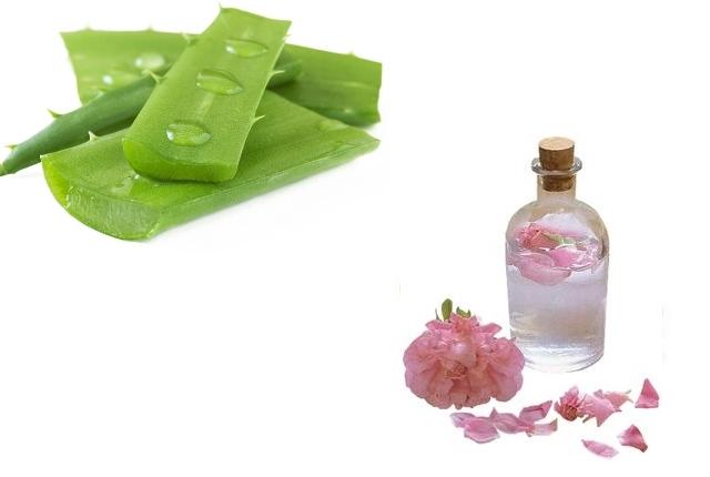 Rose Water & Aloe Vera Gel Mask
