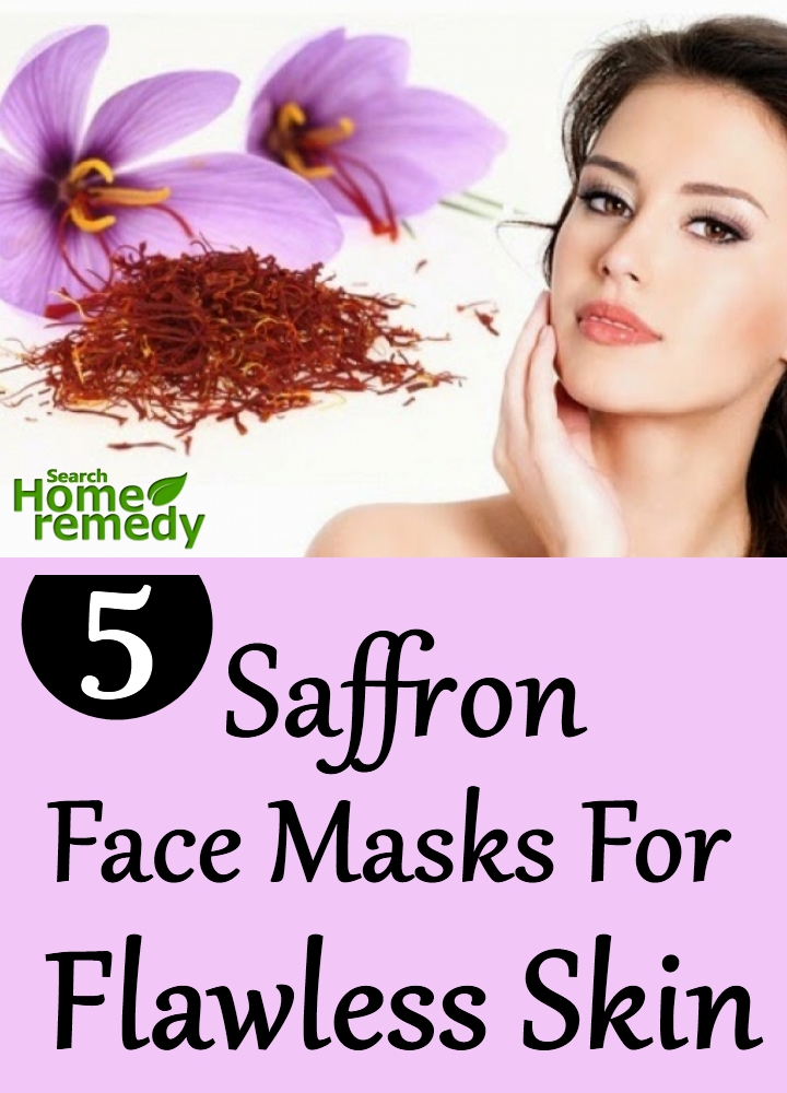 Saffron Face Masks For Flawless Skin