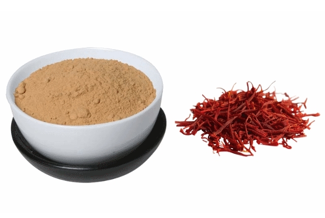 Saffron and Sandalwood powder Mask