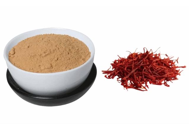 Saffron and Sandalwood powder Mask