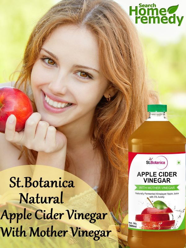 St.botanica Natural Apple Cider Vinegar