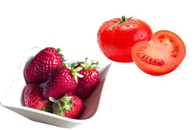 Strawberry And Tomato Facial Mask