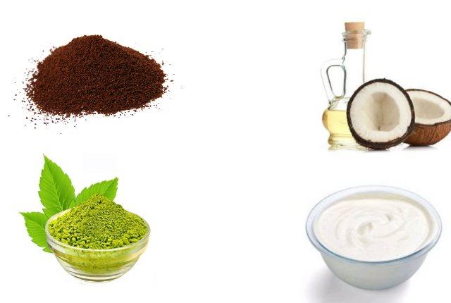 Try Coffee Powder, Coconut Oil, Henna And Yogurt