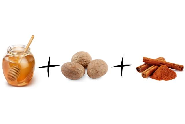 Use Honey With Cinnamon And Nutmeg