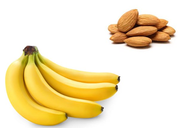 Banana with Almond