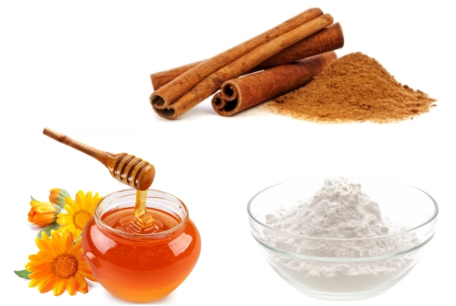 Cinnamon Baking Soda Honey Mask