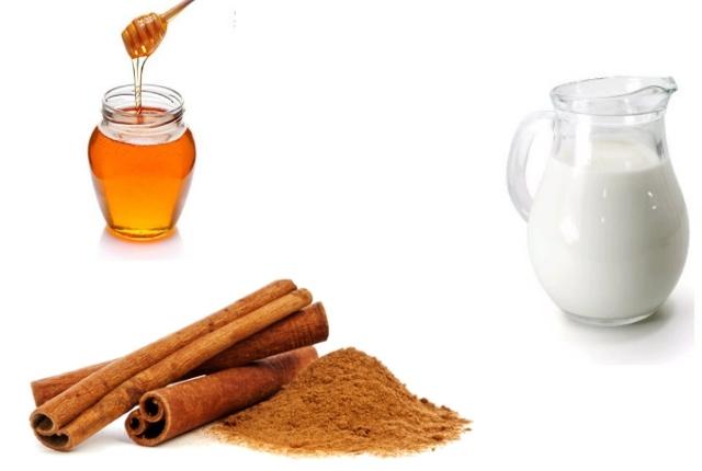 Cinnamon milk and honey serum