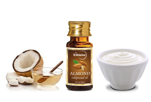 Almond, Milk And Coconut Oil