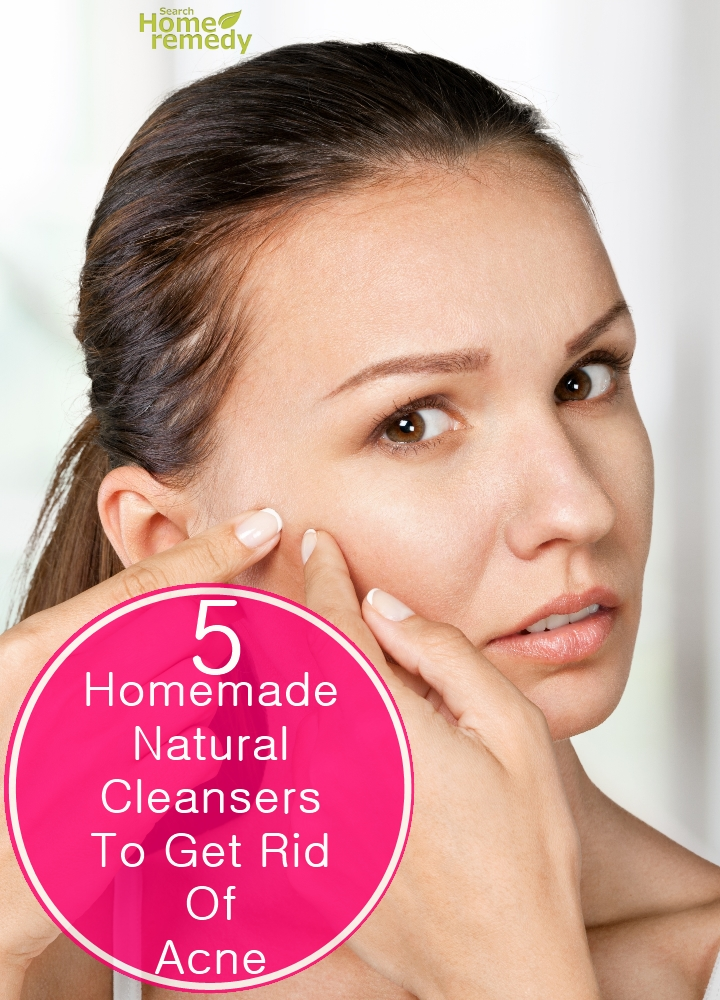Homemade Cleansers To Get Rid Of Acne