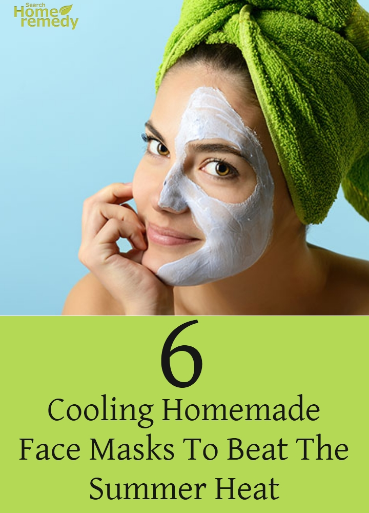 Homemade Face Masks To Beat The Summer Heat