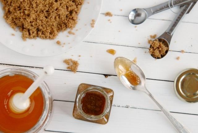 Honey And Sugar Foot Scrub For Baby Soft Feet