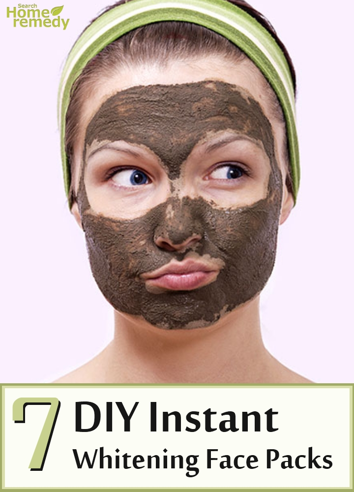 Instant Whitening Face Packs