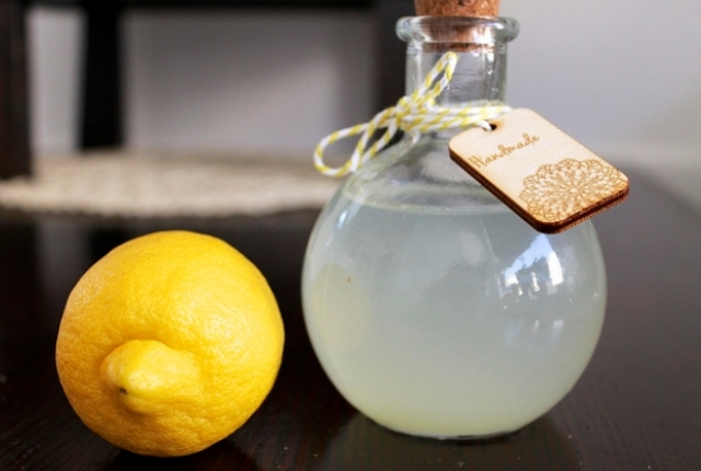 Lemon Juice Toner