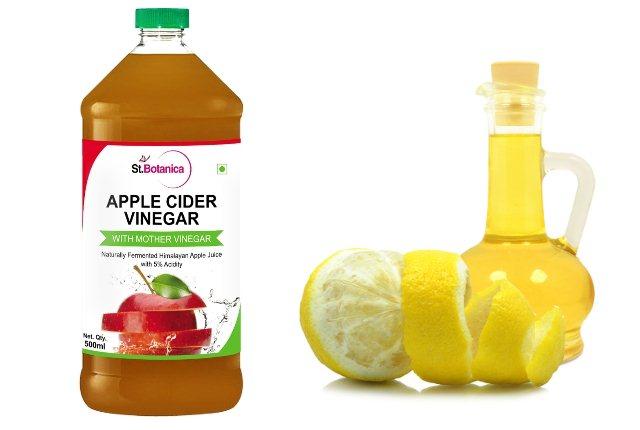 Lemon and Apple Cider Vinegar Hair Mask