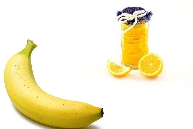 Lemon and Banana Hair Mask