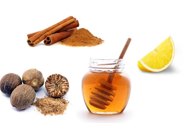 Nutmeg, Honey, Lemon Juice & Cinnamon Mask