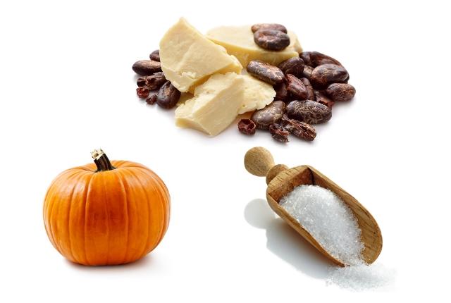 Pumpkin, Cocoa Butter And Sugar Scrub