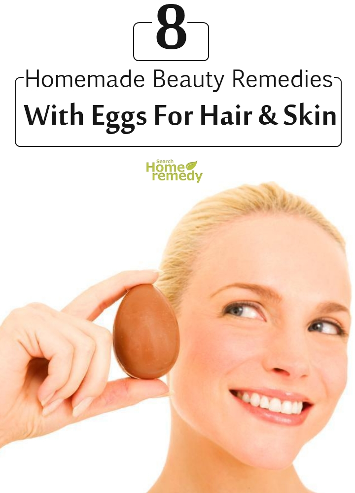 Remedies With Eggs For Hair And Skin