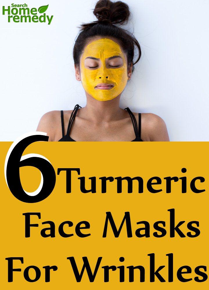 6 Turmeric Face Masks For Wrinkles
