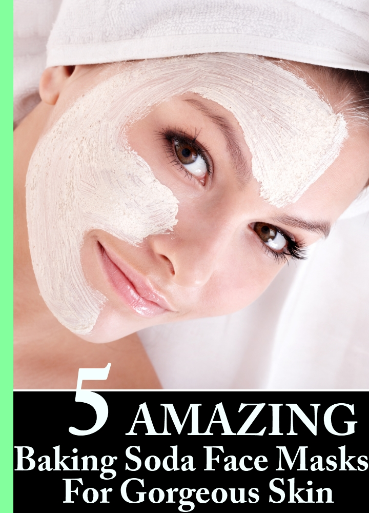 5 Amazing Baking Soda Face Masks For Gorgeous Skin