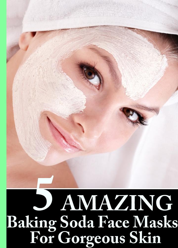 5 Amazing Baking Soda Face Masks For Gorgeous Skin
