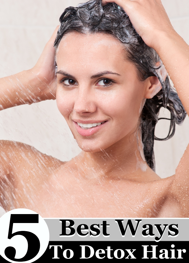 5 Best Ways To Detox Hair