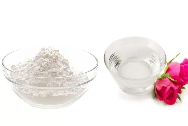 Baking Soda and Rosewater