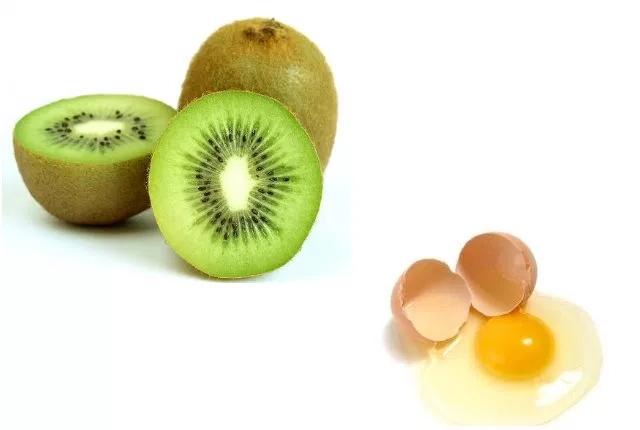 Egg And Kiwi Mask