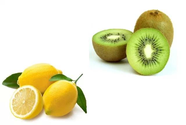 Lemon Juice And Kiwi Mask