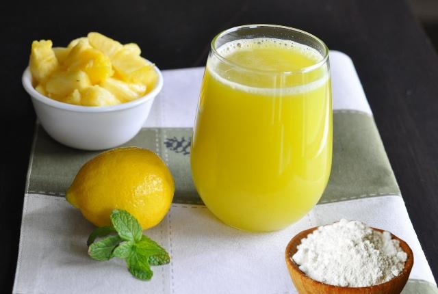 Lemon Juice And Pineapple Juice