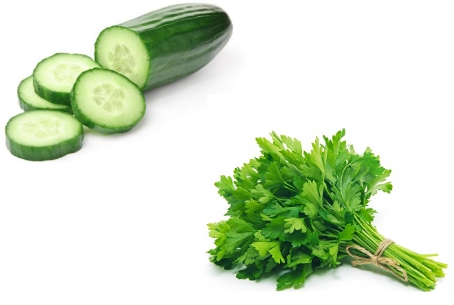 Parsley And Cucumber Face Mask