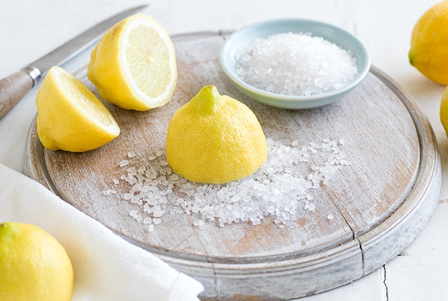 Sea Salt with Lemon Juice