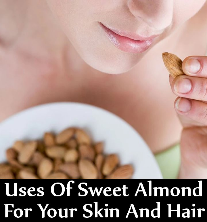 5 Enticing Uses Of Sweet Almond For Your Skin And Hair