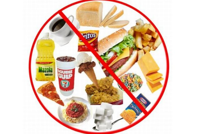 Say no to processed foods