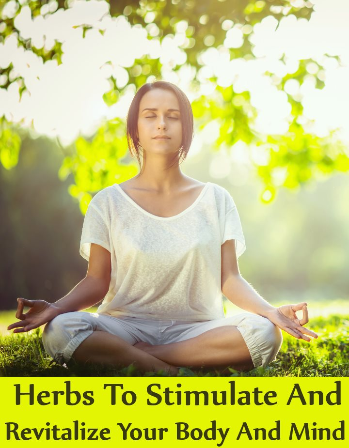 Top 6 Herbs To Stimulate And Revitalize Your Body And Mind