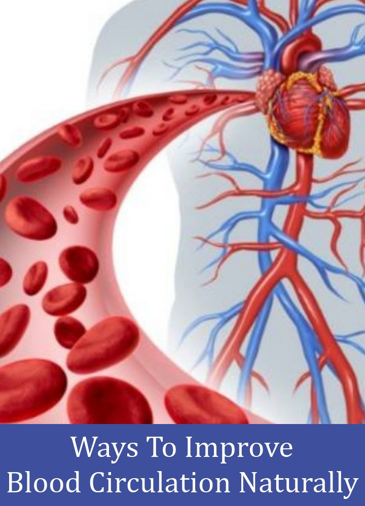 Ways To Improve Blood Circulation Naturally