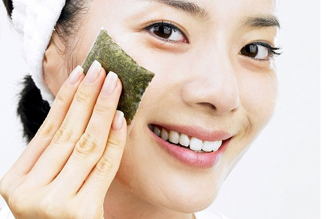 Compress With Cold Green Tea Bags