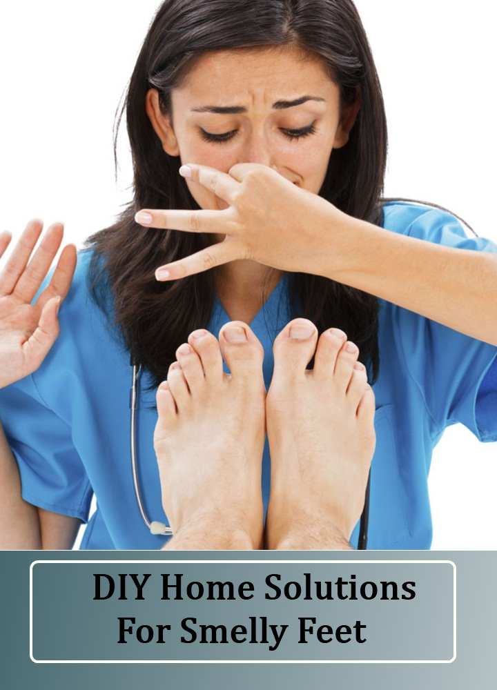 DIY Home Solutions For Smelly Feet