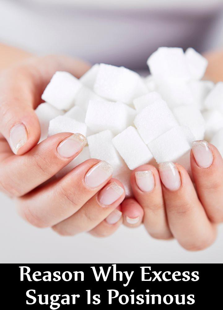 7 Reason Why Excess Sugar Is Poisinous