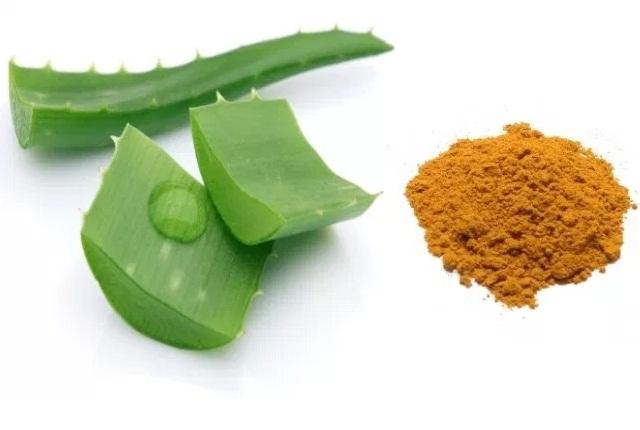 Turmeric And Aloe Vera Gel