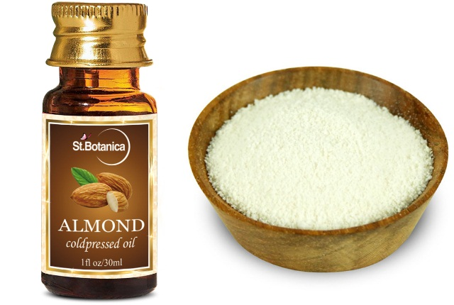 Almond Oil & Milk Powder