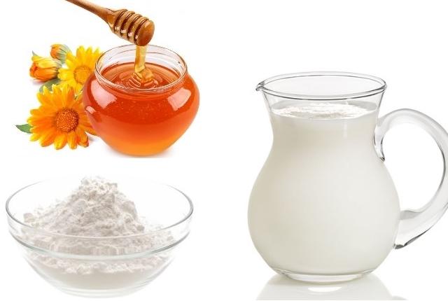 Honey, Baking Soda, and Creamy Milk
