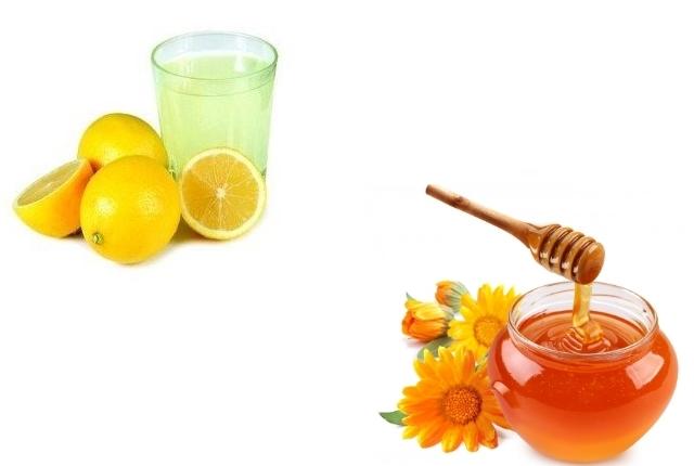 Lemon Juice Honey Gelatine Mask