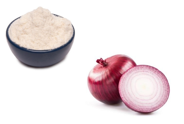 Rice Flour And Onion