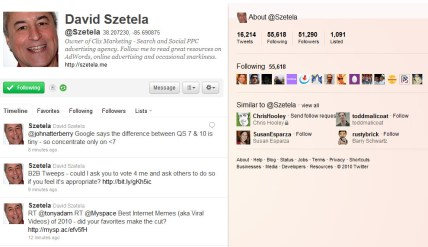@Szetela on Twitter