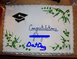 Congratulations Dog!