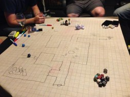 Search Influence employees at a weekly DnD game.